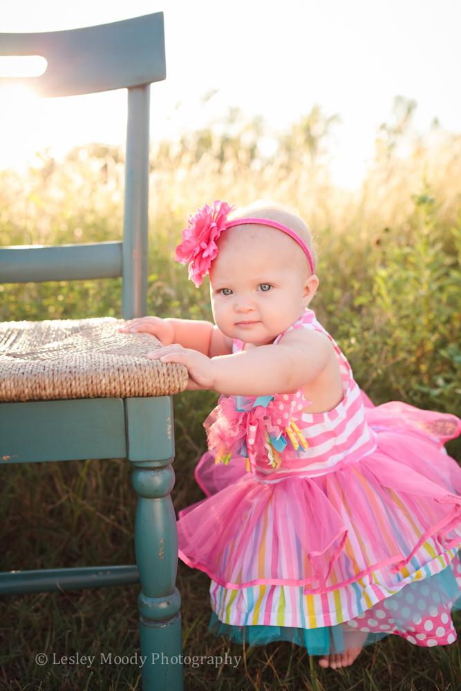 Elle 1 year baby photographer wichita ks