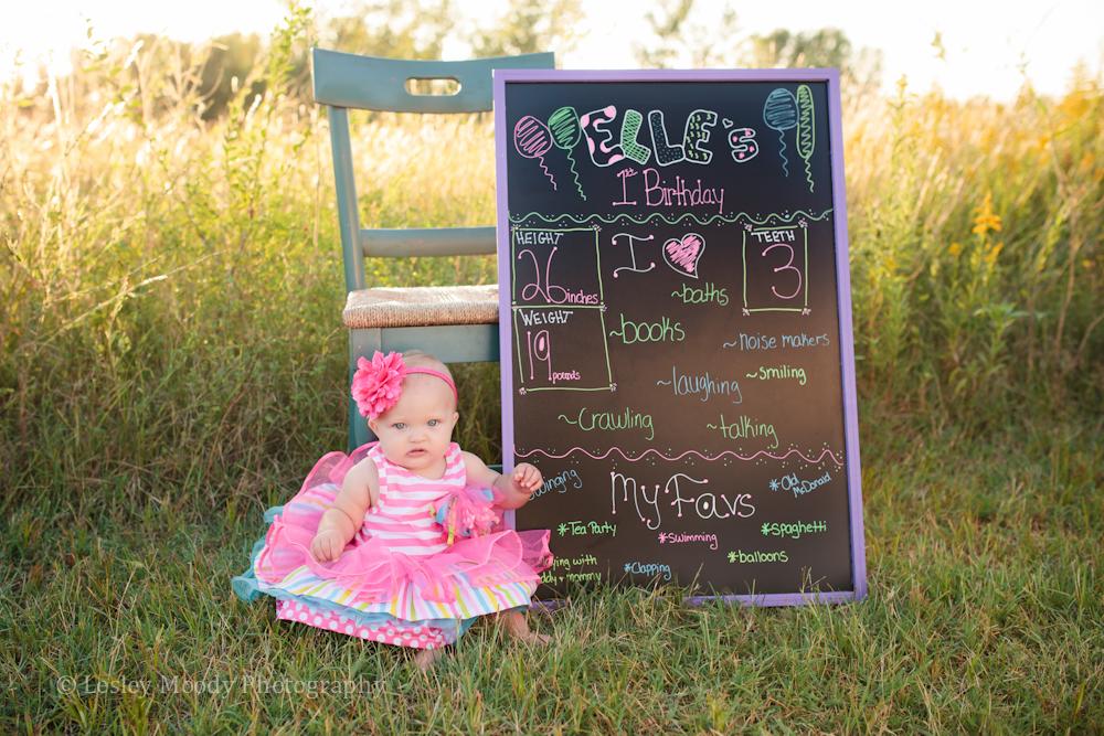 Elle 1 Year! | Baby Photographer Wichita, KS